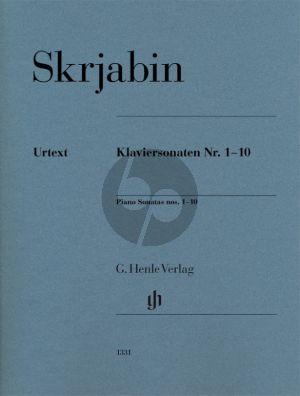 Sonaten No. 1 - 10 Klavier
