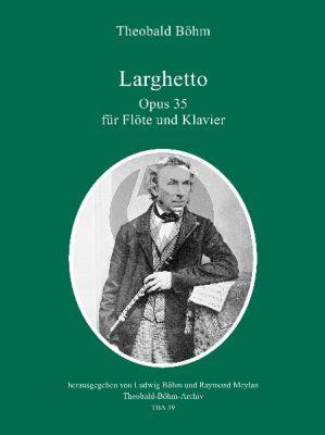 Boehm Larghetto Op.35 (Flote und Klavier)