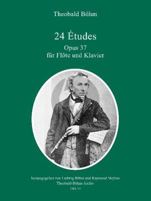 Boehm 24 Etudes Op.37 (Flote und Klavier)