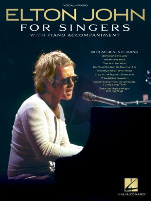 Elton John for Singers Piano-Vocal