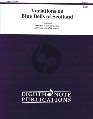 Marlatt Variations on Blue Bells of Scotland Clarinet and Piano