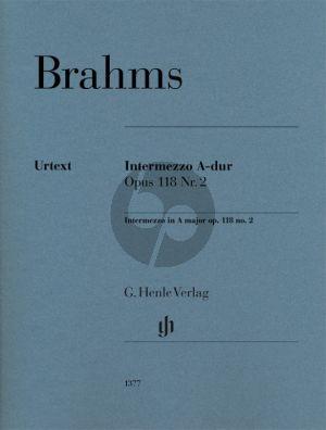 Brahms Intermezzo A-dur Opus 118 No. 2 Klavier (Katrin Eich)