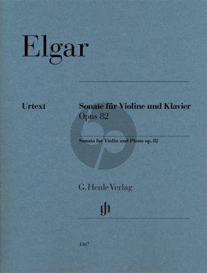 Elgar Sonate Opus 82 Violine und Klavier (Rupert Marshall-Luck)