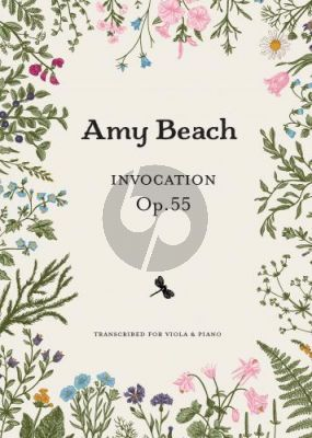 Beach Invocation Opus 55 Viola and Piano (transcr. by Courtney Grant)
