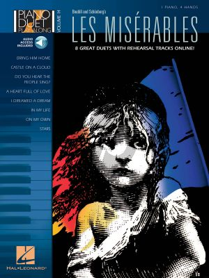 Les Miserables for piano 4 hands
