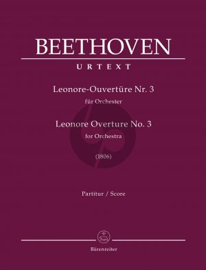 Beethoven Leonore Overture No. 3 for Orchestra (Full Score) (Helga Lühning)