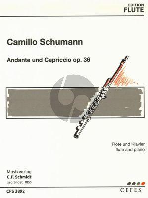 Schumann Andante und Capriccio Opus 36 Flöte und Klavier