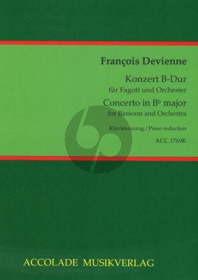 Devienne Konzert B-Dur Fagott und Orchester (Klavierauszug) (Bodo Koenigsbeck)
