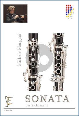 Mangani Sonata for 2 Clarinets
