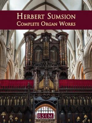 Sumsion Complete Organ Works (Edited by Daniel Cook)