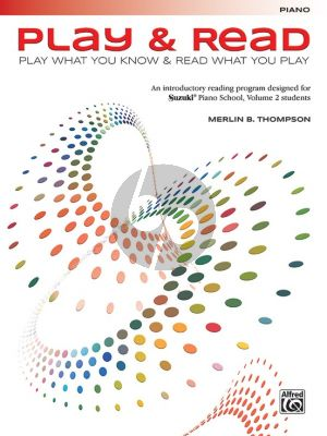 Thompson Play and Read for Piano (Play what you know - Read what you Play)