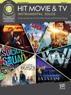 Hit Movie & TV Instrumental Solos for Tenor Saxophone (Bk-Cd) (arr. Bill Galliford)