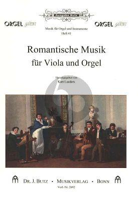 Romantische Musik Band 1 Viola und Orgel (Kurt Lüders)