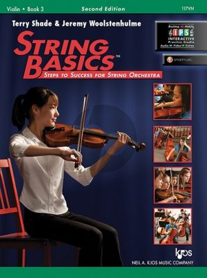 Shade Woolstenhulme String Basics Vol.3 Violin (Second Edition) (Steps to Success for String Orchestra)