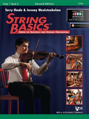 Shade Woolstenhulme String Basics Vol.3 Viola (Second Edition) (Steps to Success for String Orchestra)