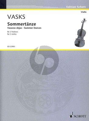 Vasks Sommertänze - Vasaras dejas 2 Violinen