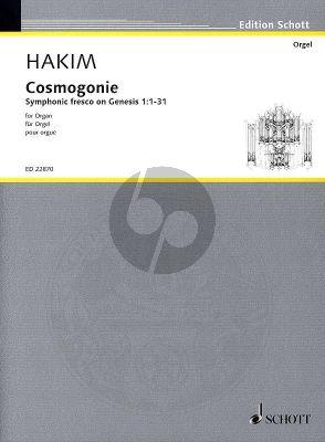 Hakim Cosmogonie for Organ (Symphonic fresco on Genesis 1:1-31)