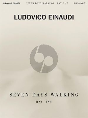 Einaudi Seven Days Walking - Day One Piano solo