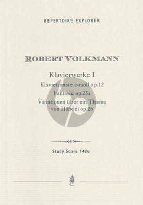 Volkmann Klavierwerke Vol. 1