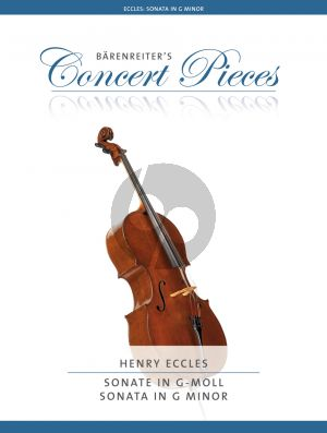 Eccles Sonata in G-minor Violoncello and Piano (Christoph Sassmannshaus)