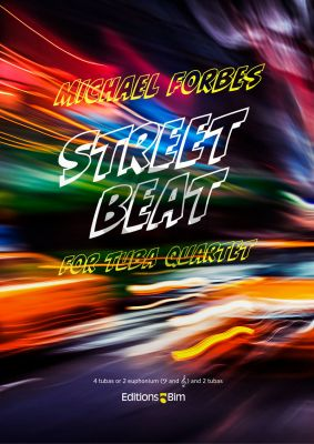 Forbes Street Beat for 4 Tubas (or 2 Euphoniums and 2 Tubas) (Score/Parts)