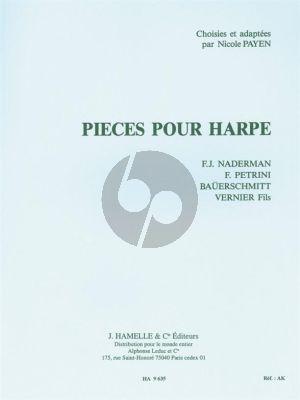 Pieces pour Harpe (Payen-Moat)