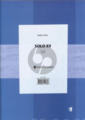 Aho Solo XII for Viola