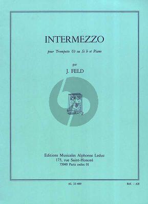 Feld Intermezzo Trompette en C ou Bb et Piano