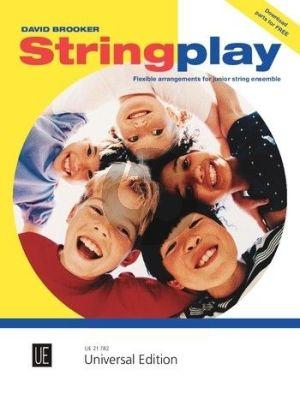 Brooker Stringplay for flexible String Ensemble (Piano ad lib.) (Score)