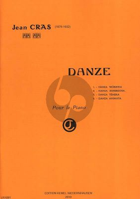 Cras Danze pour Piano seul