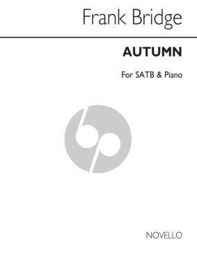 Bridge  Autumn SATB-Piano