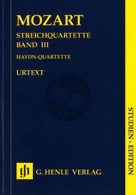 Mozart Streichquartette Band 3 Taschenpartitur