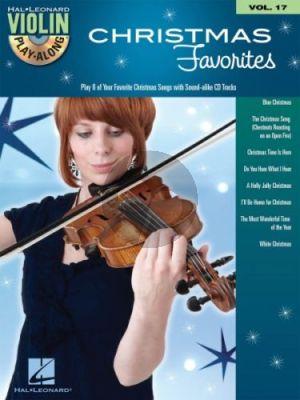 Christmas Favorites Violin