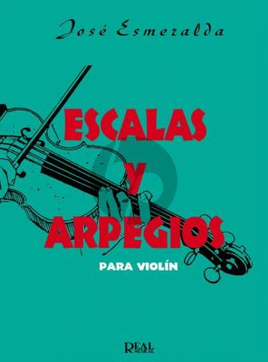 Esmeralda Escalas y Arpegios para Violín