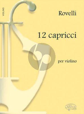 Rovelli 12 Capricci for Violin