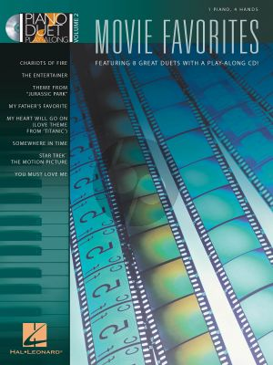 Movie Favorites Piano Duet