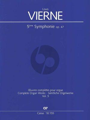 Vierne Symphonie No. 5 a-moll Opus 47 Orgel (Jon Laukvik und David Sanger)