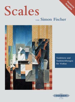 Fischer Scales - Tonleitern und Tonleiterübungen für Violine (deutscher Sprache)