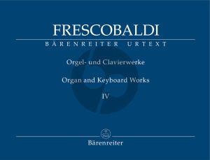 Frescobaldi Fiori musicali (Venice, Vincenti, 1635) / Aggiunta from: Toccate d'Intavolatura … Libro P.º (Rom, Borboni, 1637) (edited by Christopher Stembridge)