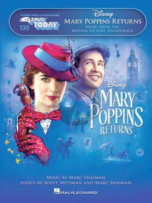Mary Poppins Returns (Music from the Motion Picture Soundtrack) (Piano or Keyboard)