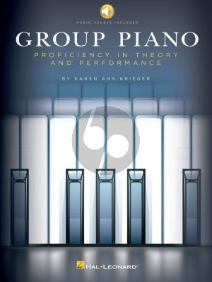 Krieger Group Piano (Proficiency in Theory and Performance) (Book with Audio online)
