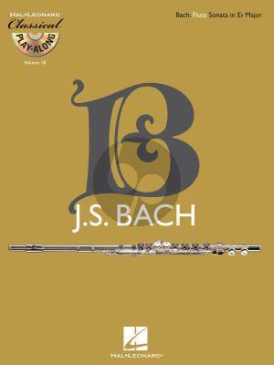 Bach Sonata in E-flat Major BWV 1031 Flute-Bc (Bk-Cd)