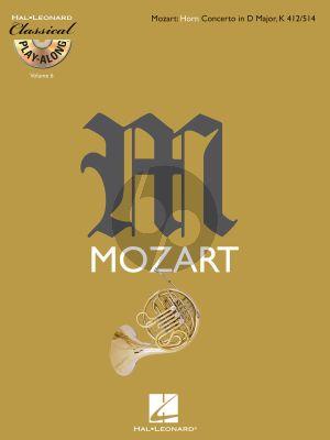 Horn Concerto in D major KV412/514