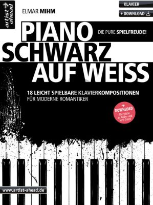 Mihm Piano schwarz auf weiß