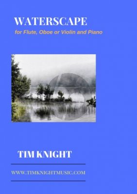 Knight Waterscape for Flute [Oboe/Violin] and Piano