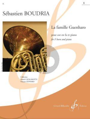 Boudria La Famille Guenharo Vol. 1 Horn in F and Piano (easy level grade 3)