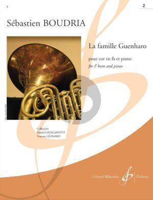 Boudria La Famille Guenharo Vol. 2 Horn in F and Piano (intermediate level grade 4 - 5)