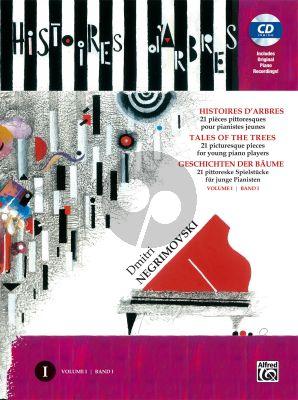 Negrimovski Histoires d'Arbres - Tales of Trees Vol. 1 Piano (Bk-Cd)