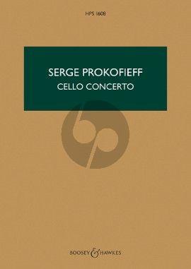 Prokofieff Concerto e-minor Op. 85 Violoncello and Orchestra (Study Score)