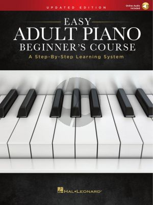 Easy Adult Piano Beginner's Course – Updated Edition (Book with Audio online)